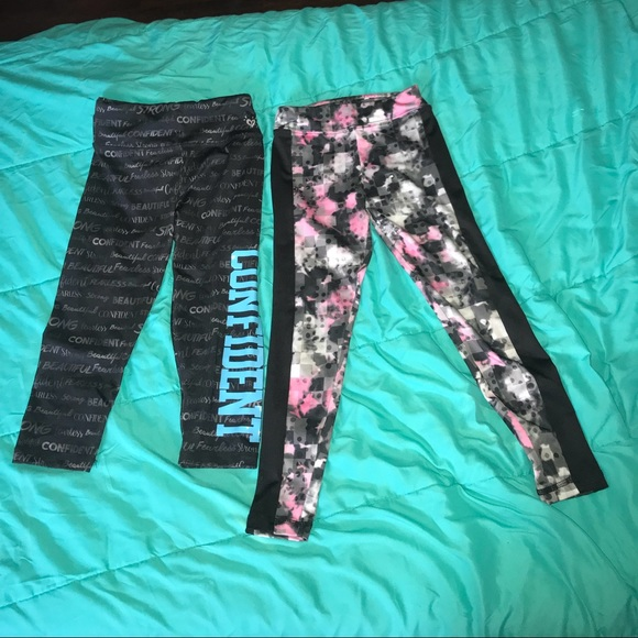 Justice Other - Justice leggings, one Capri, one longe length